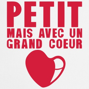 petit grand coeur citation 18 Tabliers - Tablier de cuisine