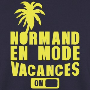 normand en mode vacance palmier on Sweat-shirts - Sweat-shirt Homme