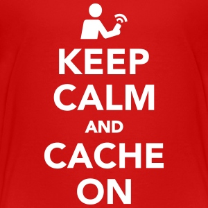 Keep calm and cache on T-Shirts - Kinder Premium T-Shirt