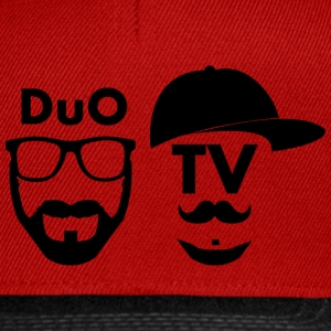 DuO TV Memes (black) Caps & Mützen - Snapback Cap