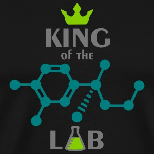 King of the lab (3c) T-Shirts - Männer Premium T-Shirt