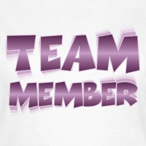 Team Member T-shirts - Vrouwen T-shirt