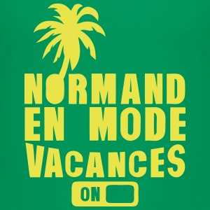 normand en mode vacance palmier on Tee shirts - T-shirt Premium Ado