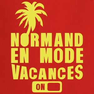 normand en mode vacance palmier on Tabliers - Tablier de cuisine