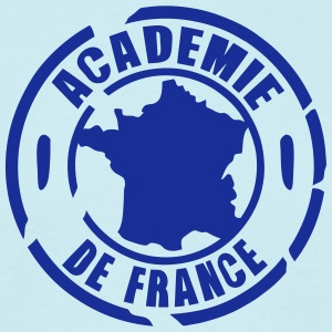 logo academie france tampon Tee shirts - T-shirt Homme