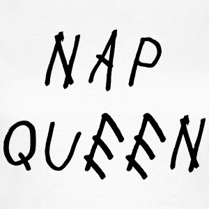Nap queen T-shirts - Vrouwen T-shirt