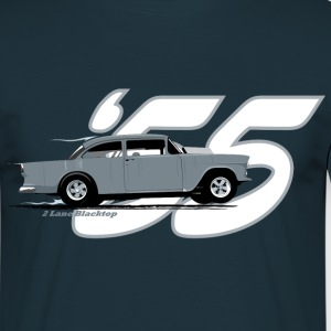2 Lane Black Top '55 Chevy T-Shirts - Men's T-Shirt