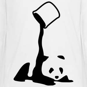 Panda, panda bear art, artist, colour Manga larga - Camiseta de manga larga premium adolescente