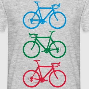 Racer colorful T-shirts - Herre-T-shirt