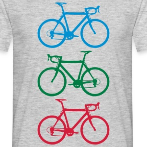 Racer colorful T-shirts - T-shirt herr