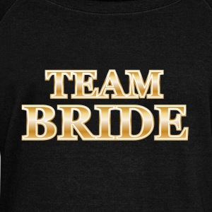 Team Bride Hoodies & Sweatshirts - Women's Boat Neck Long Sleeve Top