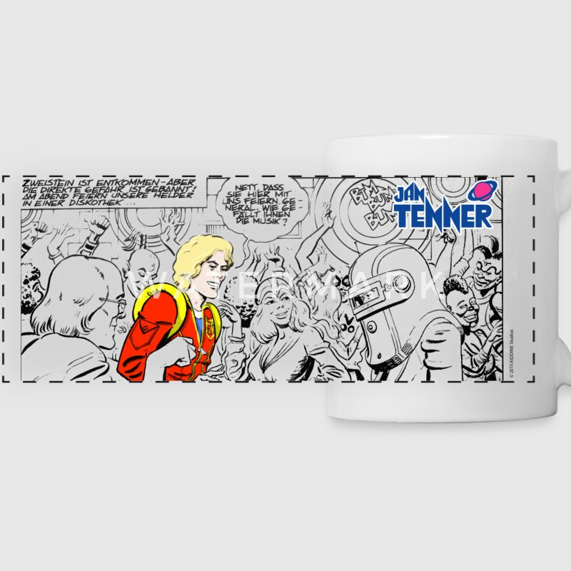 Jan Tenner Comic Tasse - Panoramatasse