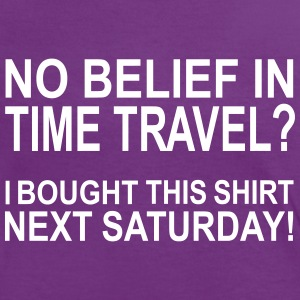 Time Travel 4 T-Shirts - Frauen Kontrast-T-Shirt