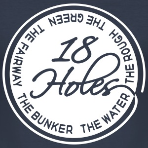 18 Holes 1C T-Shirts - Männer Slim Fit T-Shirt
