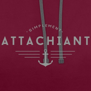 Attachiant Sweat-shirts - Sweat-shirt contraste