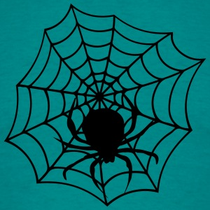 cobweb cobwebs reticle big spider T-Shirts - Men's T-Shirt