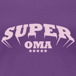 SUPER_OMA T-Shirts - Frauen Premium T-Shirt