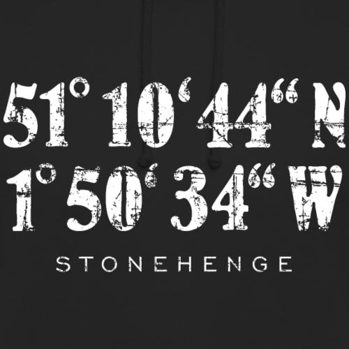 Stonehenge Koordinaten Vintage Weiß
