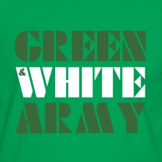 GREEN & WHITE ARMY _STENCIL_3 T-Shirts