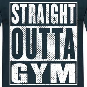 Straight Outta Gym Vintage - T-shirt Homme
