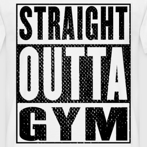 Straight Outta Gym Vintage - Mannen T-shirt