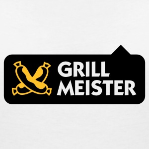 Grillmeister T-Shirts - Women's V-Neck T-Shirt