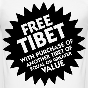 Free Tibet! T-Shirts - Männer Slim Fit T-Shirt