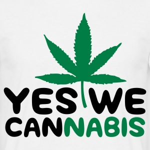 Yes we Cannabis! T-shirts - T-shirt herr