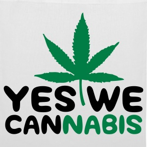 Yes we cannabis! Borse & zaini - Borsa di stoffa