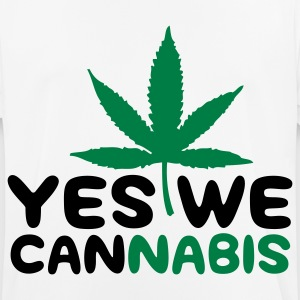 Yes We Cannabis! T-skjorter - Pustende T-skjorte for menn