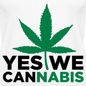 Yes we cannabis! Top - Canotta premium da donna