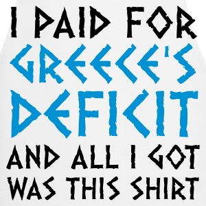 I paid Greece s debt!  Aprons - Cooking Apron