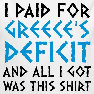 I paid Greece s debt! Baby Bodysuits - Longlseeve Baby Bodysuit