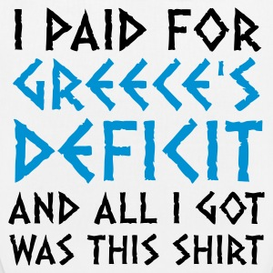 I paid Greece s debt! Bags & Backpacks - EarthPositive Tote Bag