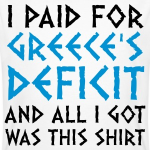 I paid Greece s debt! T-Shirts - Men's Organic T-shirt
