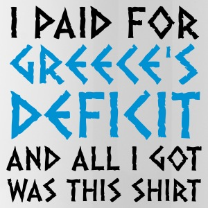 I paid Greece s debt! Mugs & Drinkware - Water Bottle
