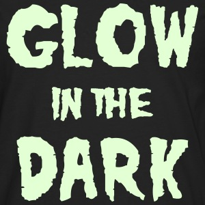 Glow in the Dark Phosphorescent - T-shirt manches longues Premium Homme