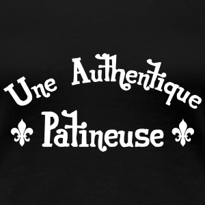 Patinage / Patineur / Patinoire / Sport / Glace Tee shirts - T-shirt Premium Femme