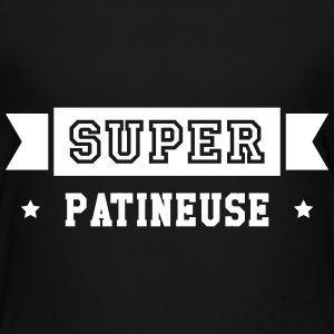 Patinage / Patineur / Patinoire / Sport / Glace Tee shirts - T-shirt Premium Ado
