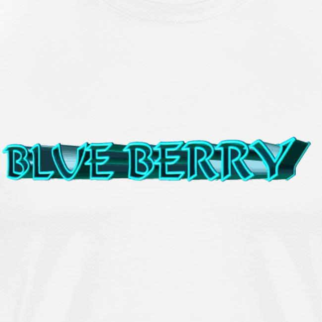 TSHIRT BLANC HOMME BLUE BERRY