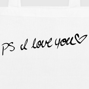 P.S. I LOVE YOU! Bags & Backpacks - EarthPositive Tote Bag