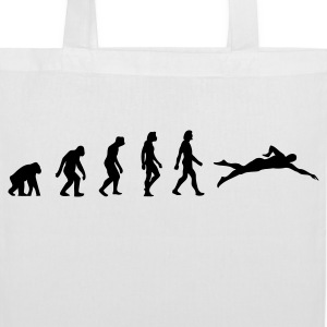 The evolution of swimming Bags & Backpacks - Tote Bag