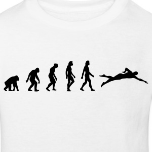 The evolution of swimming Shirts - Kids' Organic T-shirt