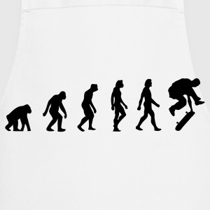 The Evolution of Skateboarding  Aprons - Cooking Apron