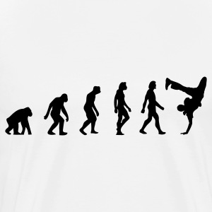 The Evolution of Breakdancing T-Shirts - Men's Premium T-Shirt