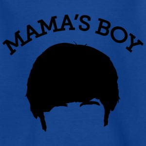 The Big Bang Theory Mama`s Boy Teenager T-Shirt - Teenager T-Shirt