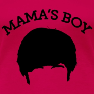 The Big Bang Theory Mama`s Boy Tee shirt Premium F - T-shirt Premium Femme