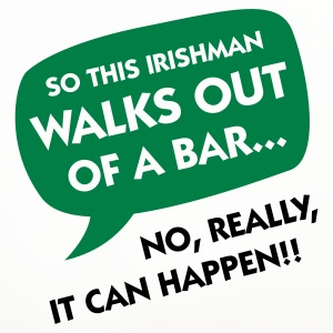 An Irishman leaving a bar ... Mugs & Drinkware - Coasters (set of 4)