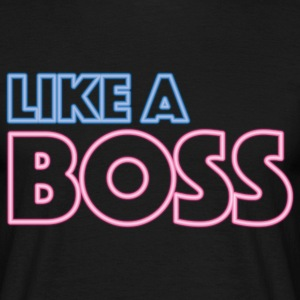 Like a Boss T-skjorter - T-skjorte for menn