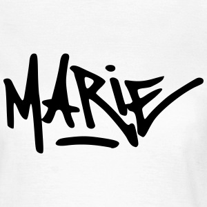 Graffiti Marie T-Shirts - Frauen T-Shirt